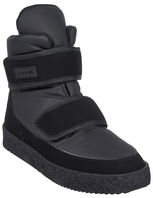 черные Ботинки Jog Dog 18006