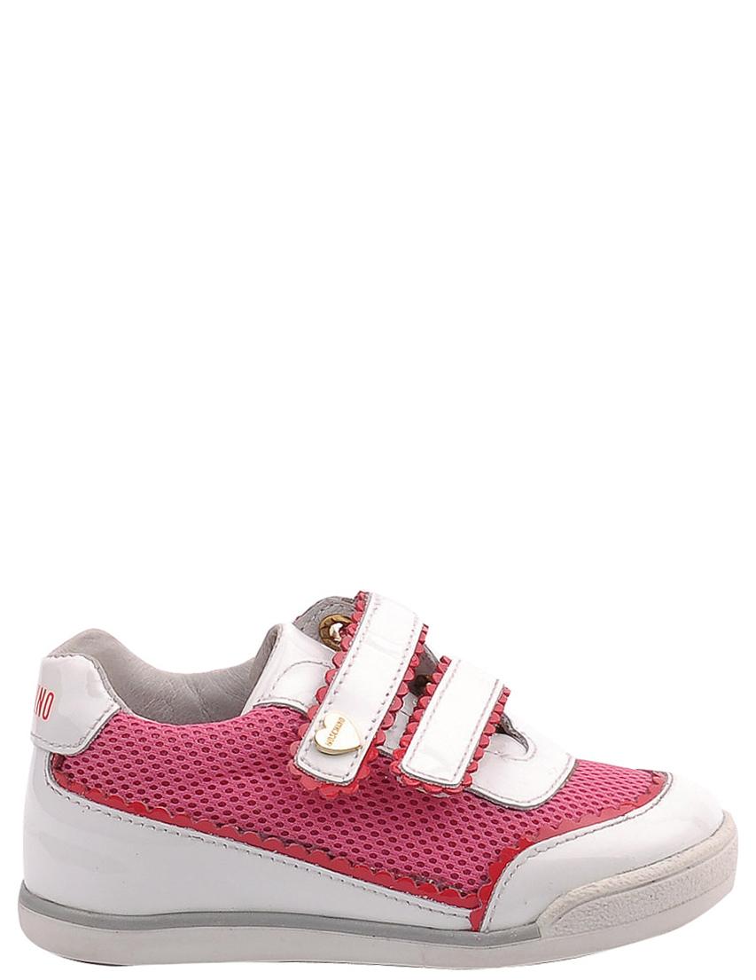 Детские кроссовки для девочек MOSCHINO 25326-rose