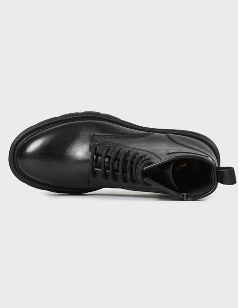 мужские черные кожаные Ботинки Fabi FU0313A-900 - фото-5