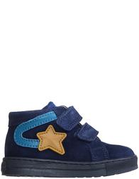 Детские кеды для девочек Falcotto Alf-vl-navy-petrolio-blue