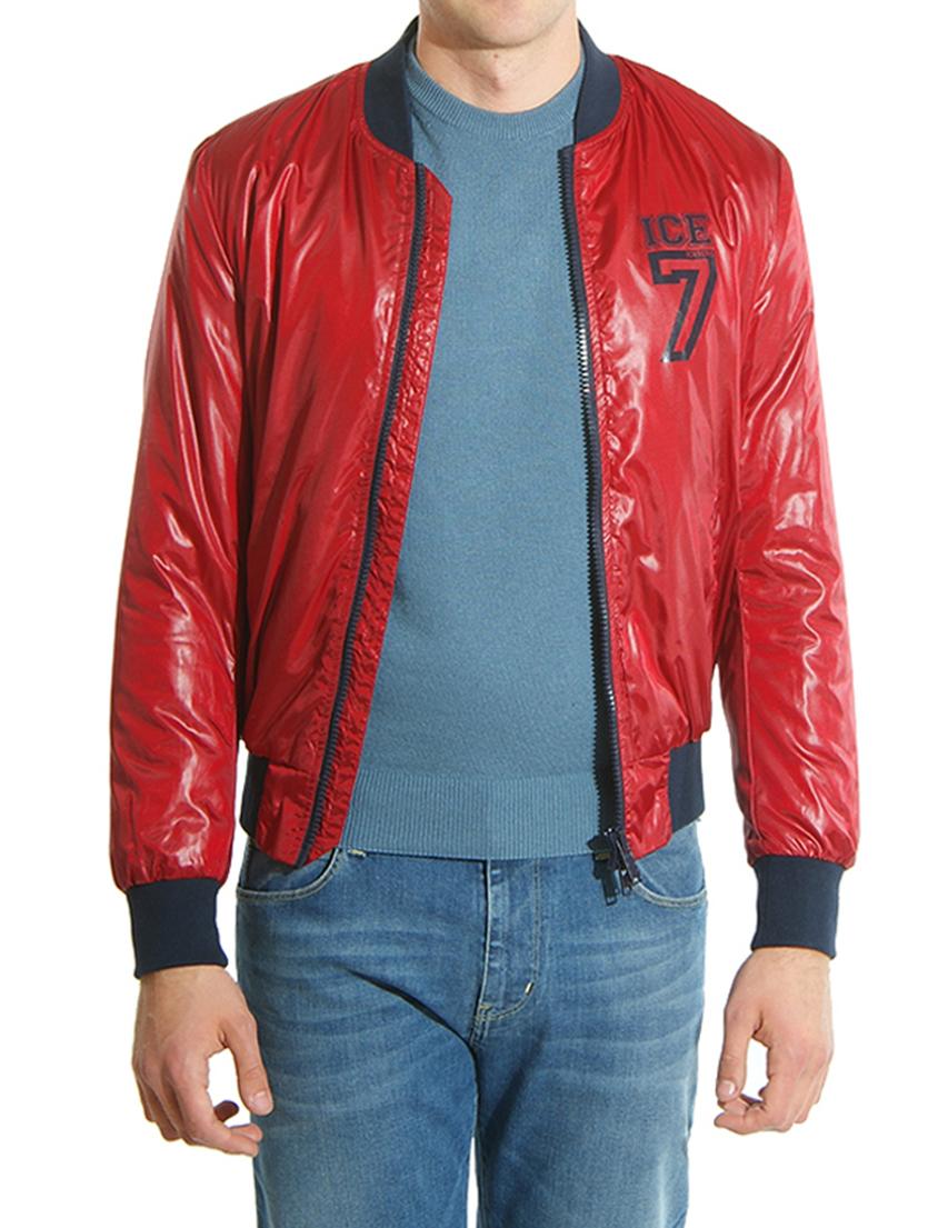 Купить Куртки, Куртка, ICEBERG, Красный, 100%Полиэстер, Осень-Зима