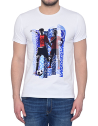 Мужская футболка BIKKEMBERGS 725S-A00_white
