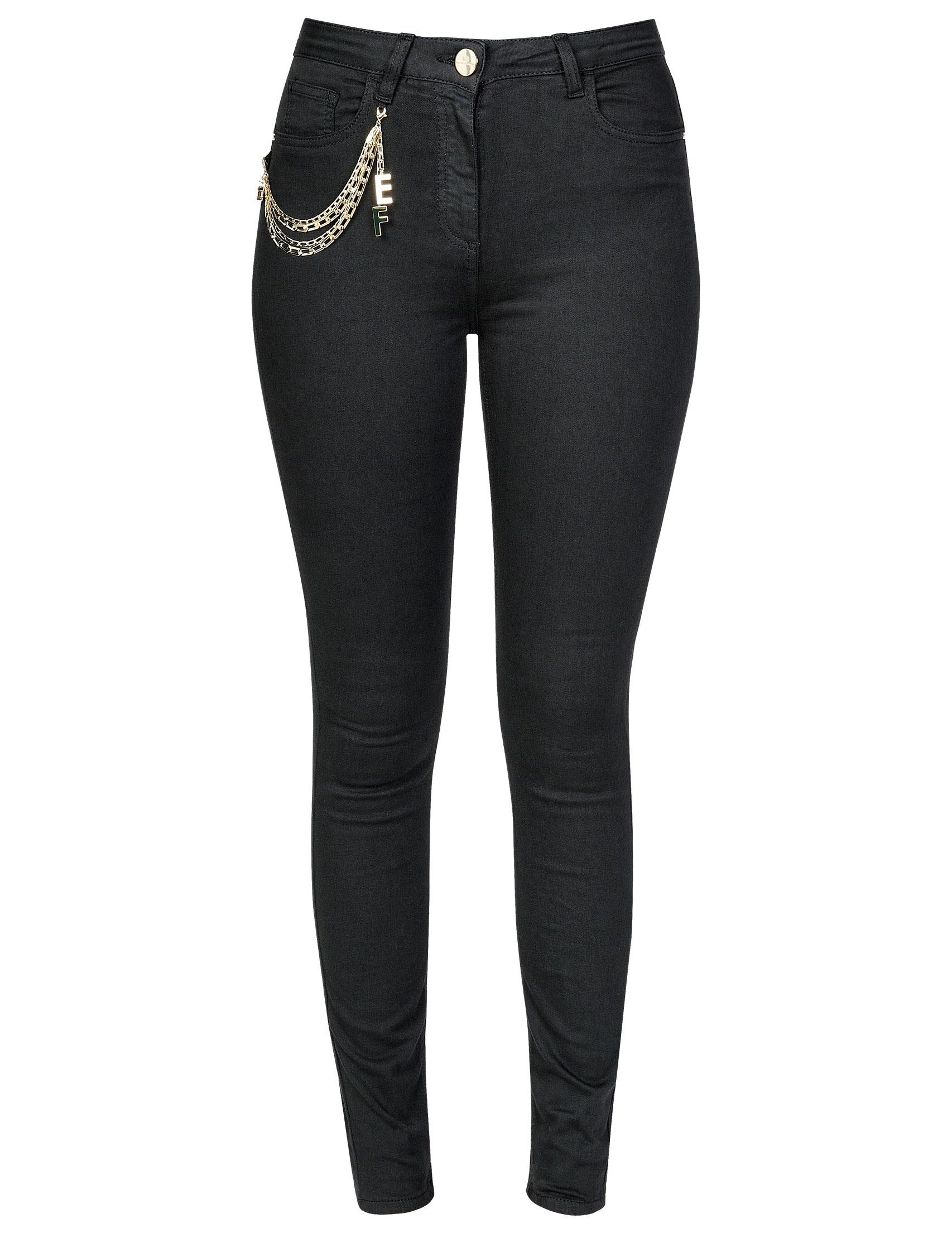 Женские джинсы ELISABETTA FRANCHI 02S-86E2-110_black