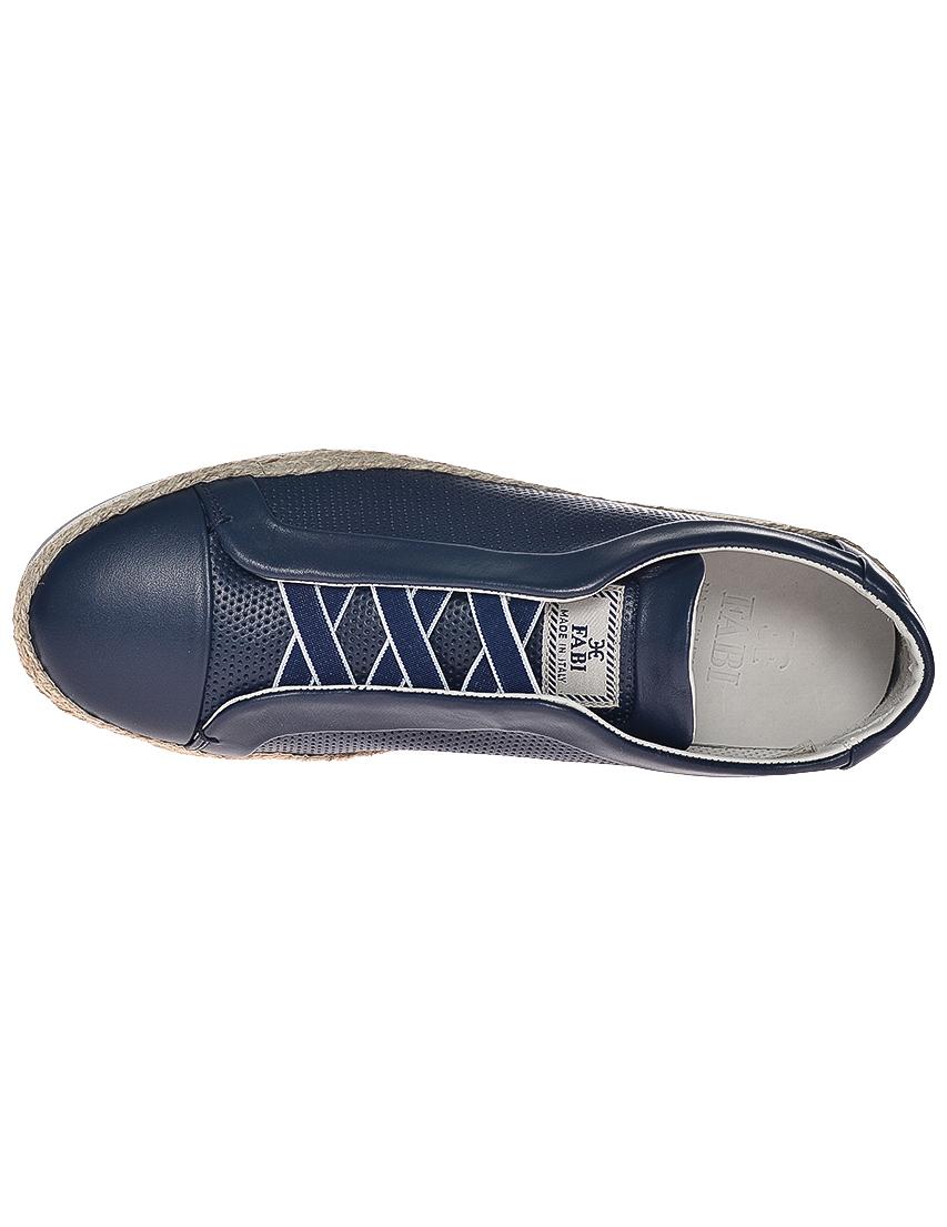 Фото 5 - мужские кроссовки  синего цвета