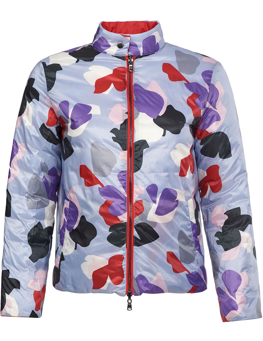 Купить Куртки, Куртка, EMPORIO ARMANI, Красный, 100%Полиэстер, Весна-Лето
