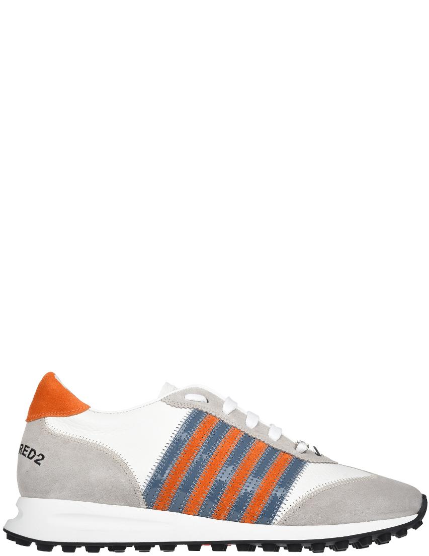 Мужские кроссовки Dsquared2 SSNM0119-WHITE_multi
