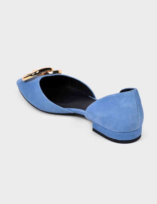 голубые женские Балетки What For PS20WF040 5285 грн
