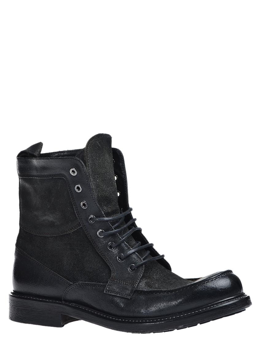 Купить Ботинки, LUCA ROSSI, Черный, Осень-Зима