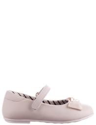 Детские туфли для девочек MOSCHINO 25413-white