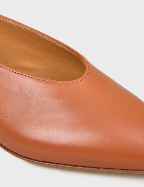 женские коричневые кожаные Босоножки Pertini 201W15839D7 - фото-5