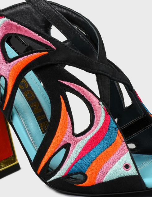 женские многоцветные замшевые Босоножки Kat Maconie PISCES - фото-5
