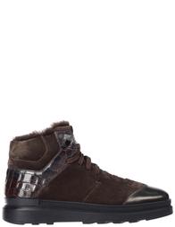 Мужские ботинки Santoni S20244-BROWN