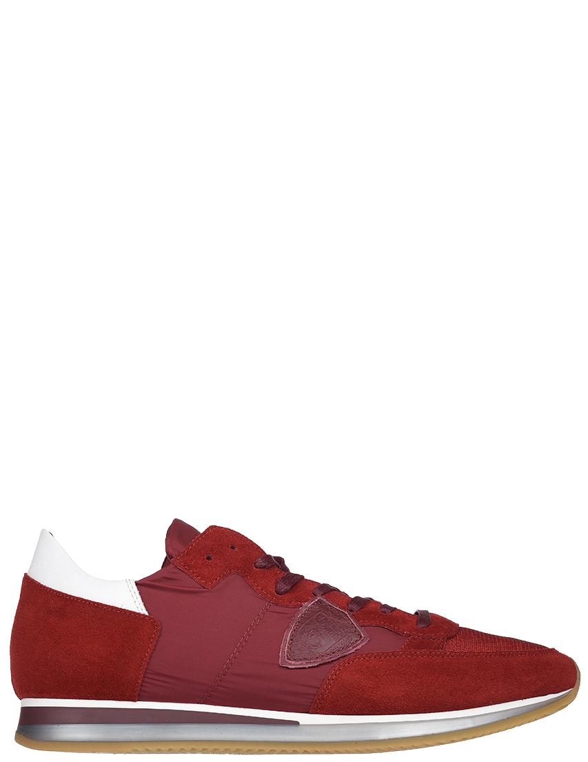 Мужские кроссовки Philippe Model STRLU-W026_red