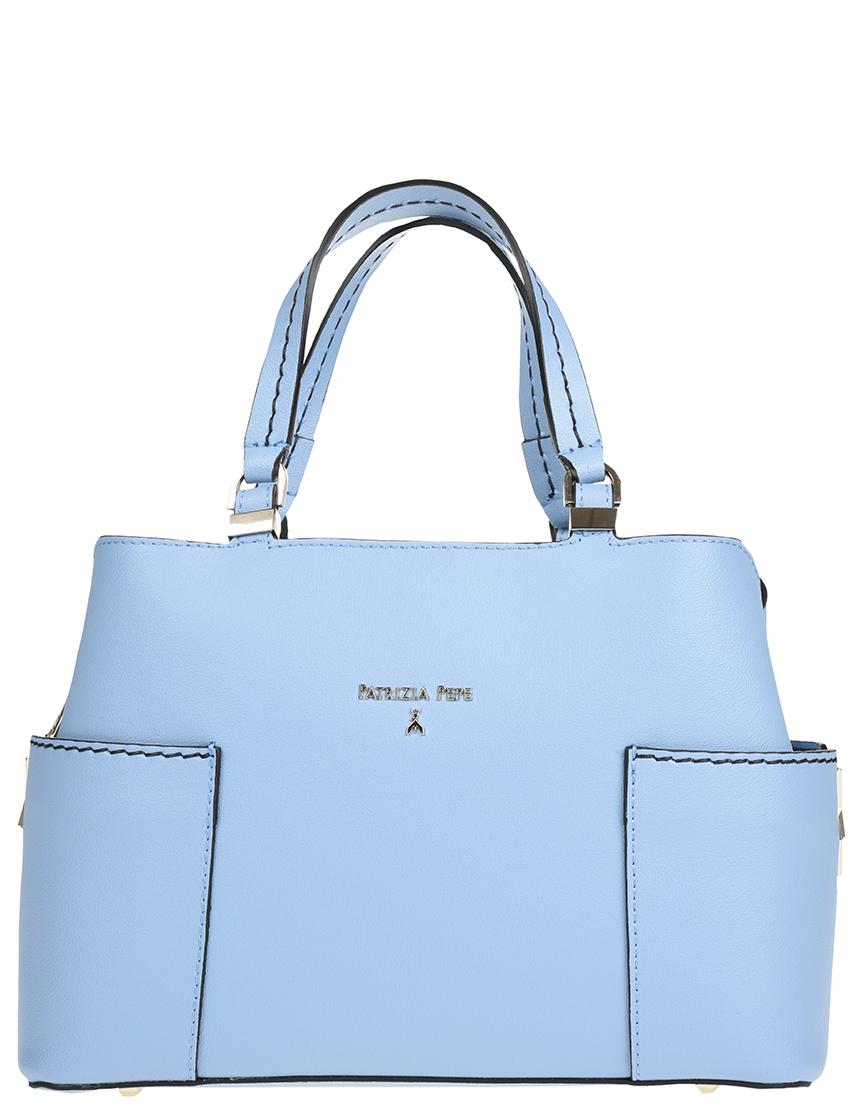 Купить Женские сумки, Сумка, PATRIZIA PEPE, Голубой, Весна-Лето