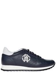 Мужские кроссовки Roberto Cavalli 2058_blue