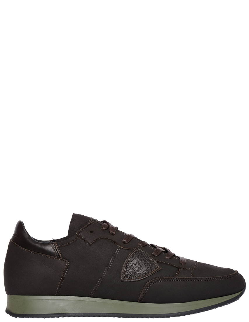 Мужские кроссовки Philippe Model STRLU-AM16-ЖД000022685_brown