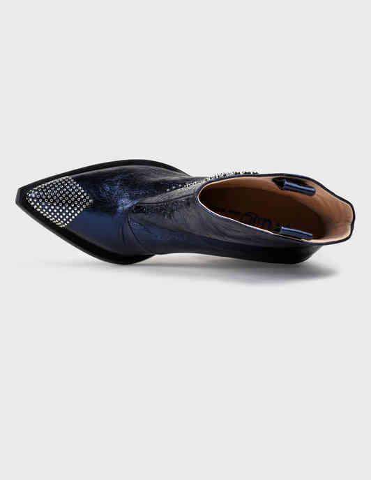 синие Полусапоги Fru.It 6230-blue размер - 35.5; 36; 37; 37.5; 38