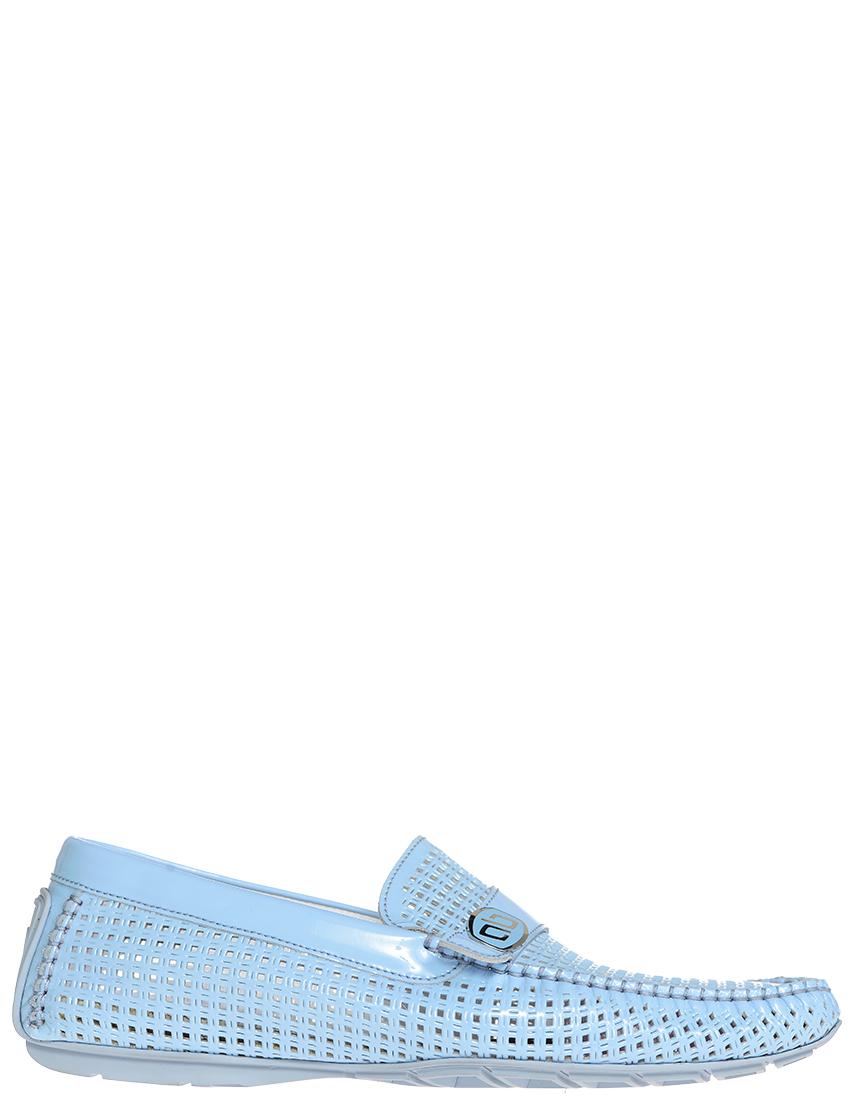 Мокасины, ALDO BRUE, Голубой, Весна-Лето  - купить со скидкой