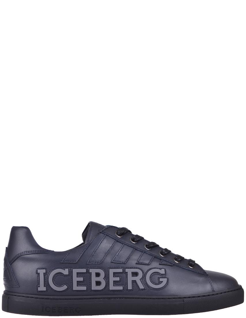 Мужские кеды Iceberg 744-К-blunotte_blue