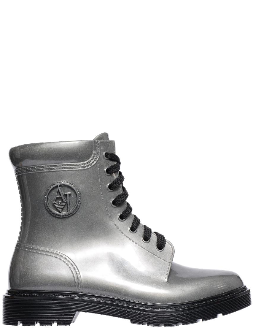 Купить Ботинки, ARMANI JEANS, Серый, Осень-Зима