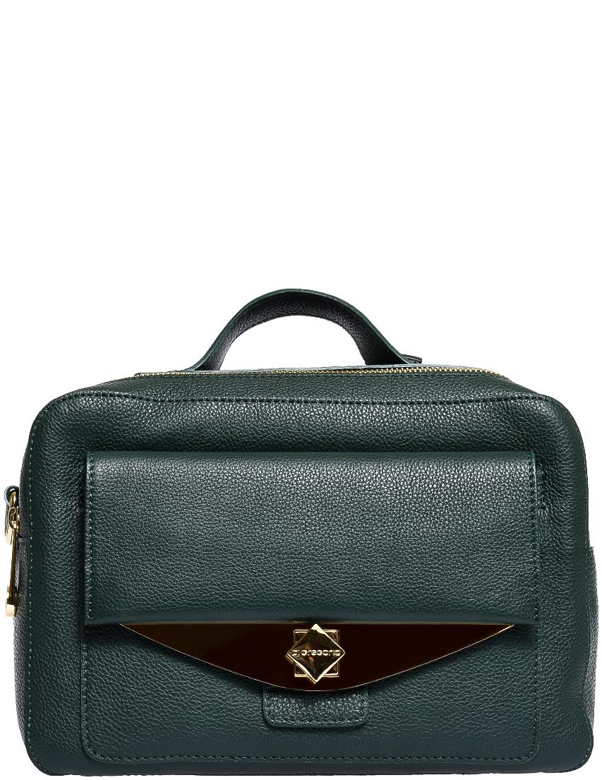 Купить Женские сумки, Сумка, DI GREGORIO, Зеленый, Осень-Зима