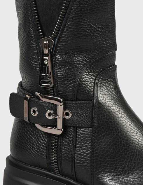 женские черные кожаные Ботинки Loriblu AGR-2I6TM04700 - фото-5