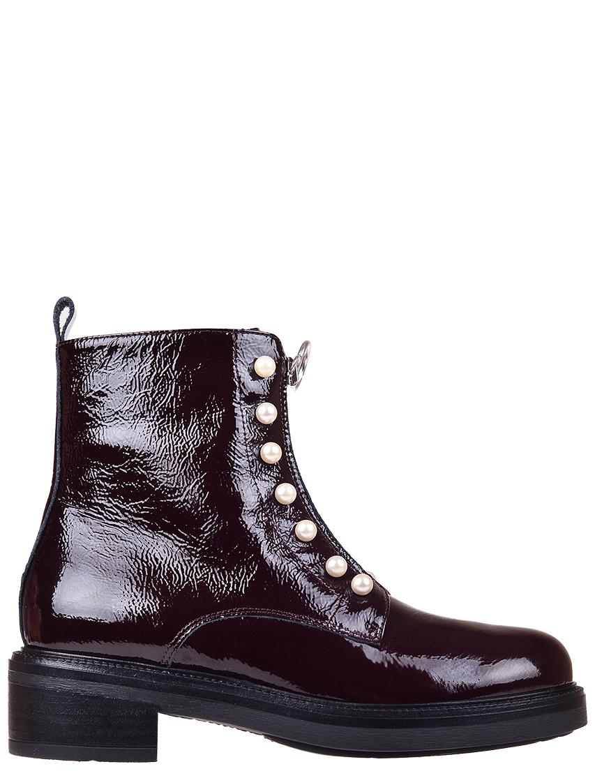Купить Ботинки, JEANNOT, Бордовый, Осень-Зима
