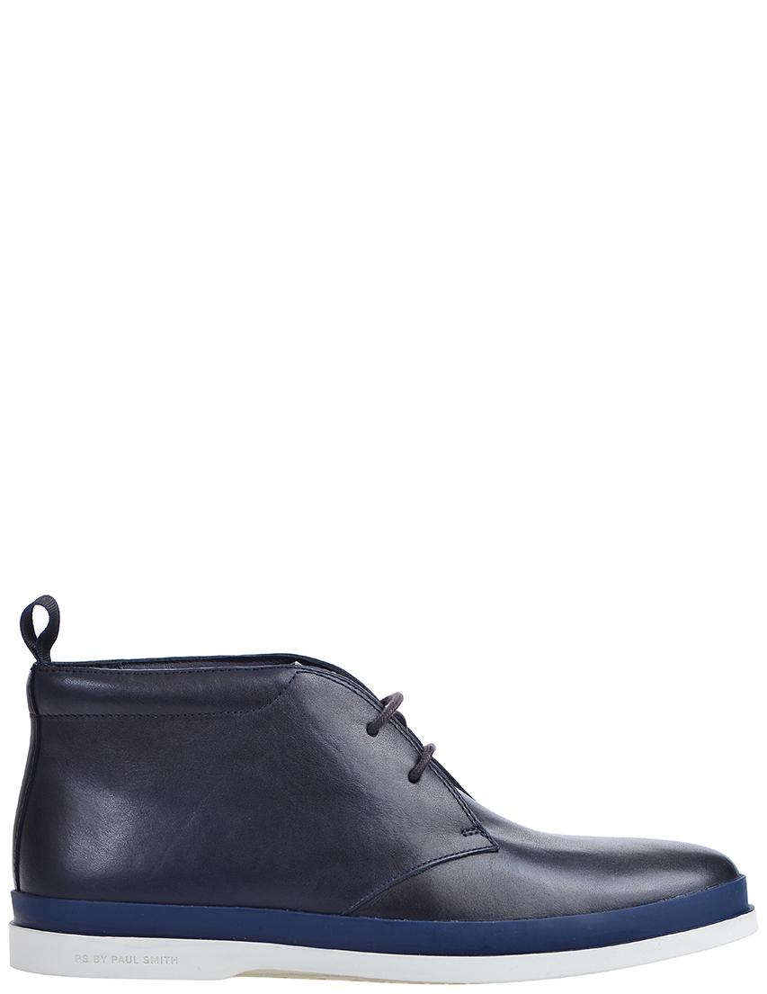 Фото - мужские ботинки и полуботинки  синего цвета
