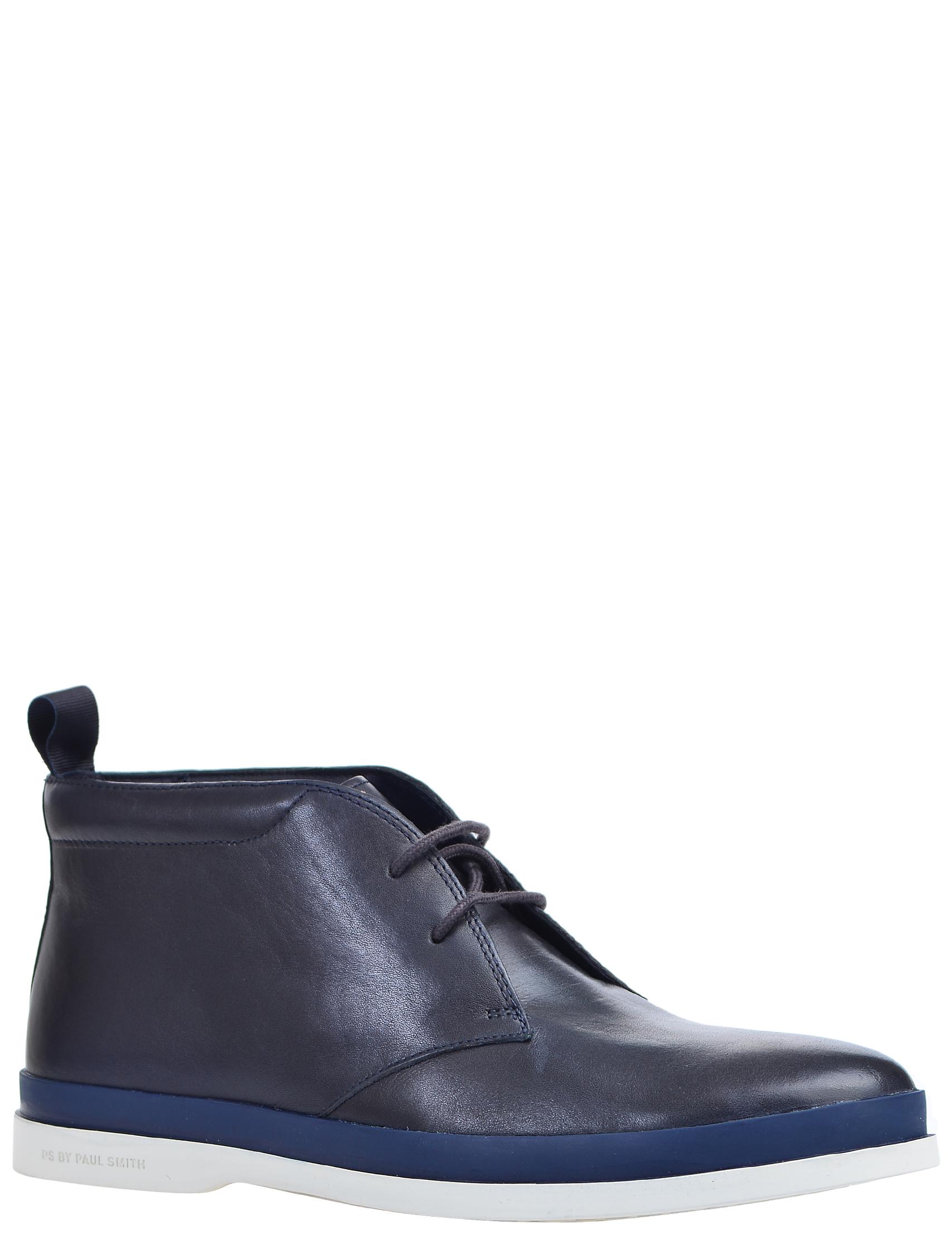 Фото 2 - мужские ботинки и полуботинки  синего цвета