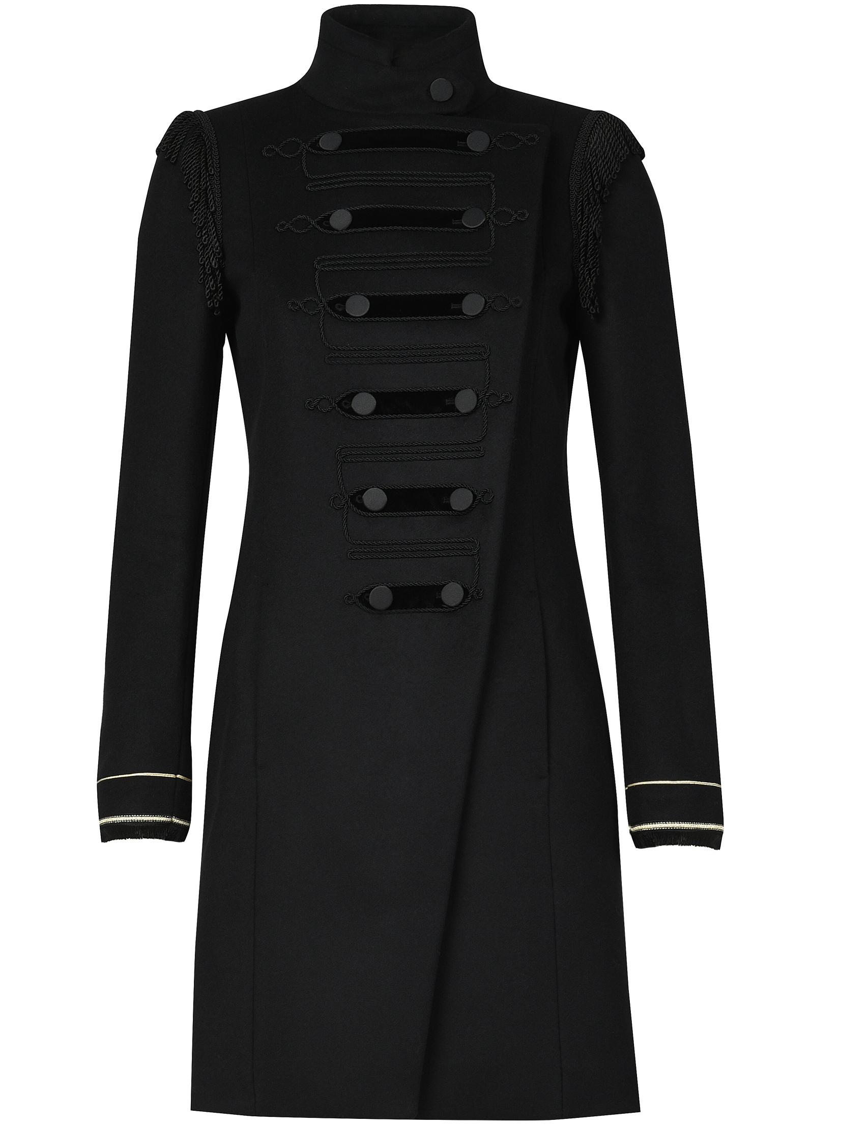 Купить Пальто, PATRIZIA PEPE, Черный, 75%Шерсть 25%Полиамид, Осень-Зима