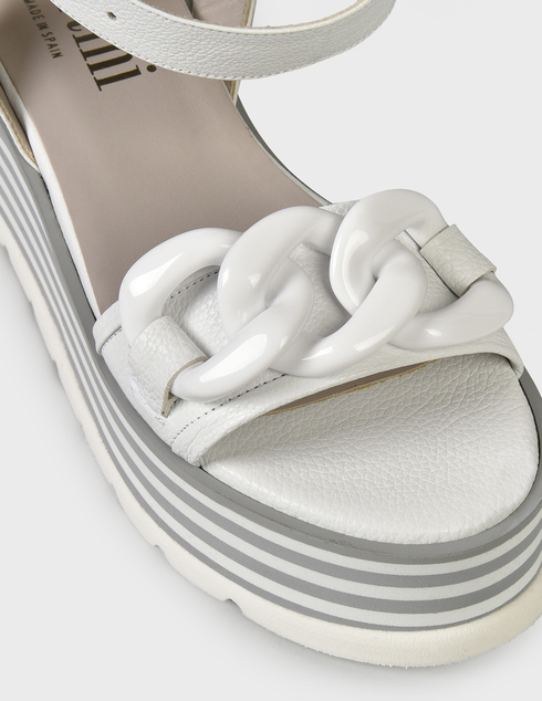 женские белые Босоножки Pertini 211W30943D2- - фото-6