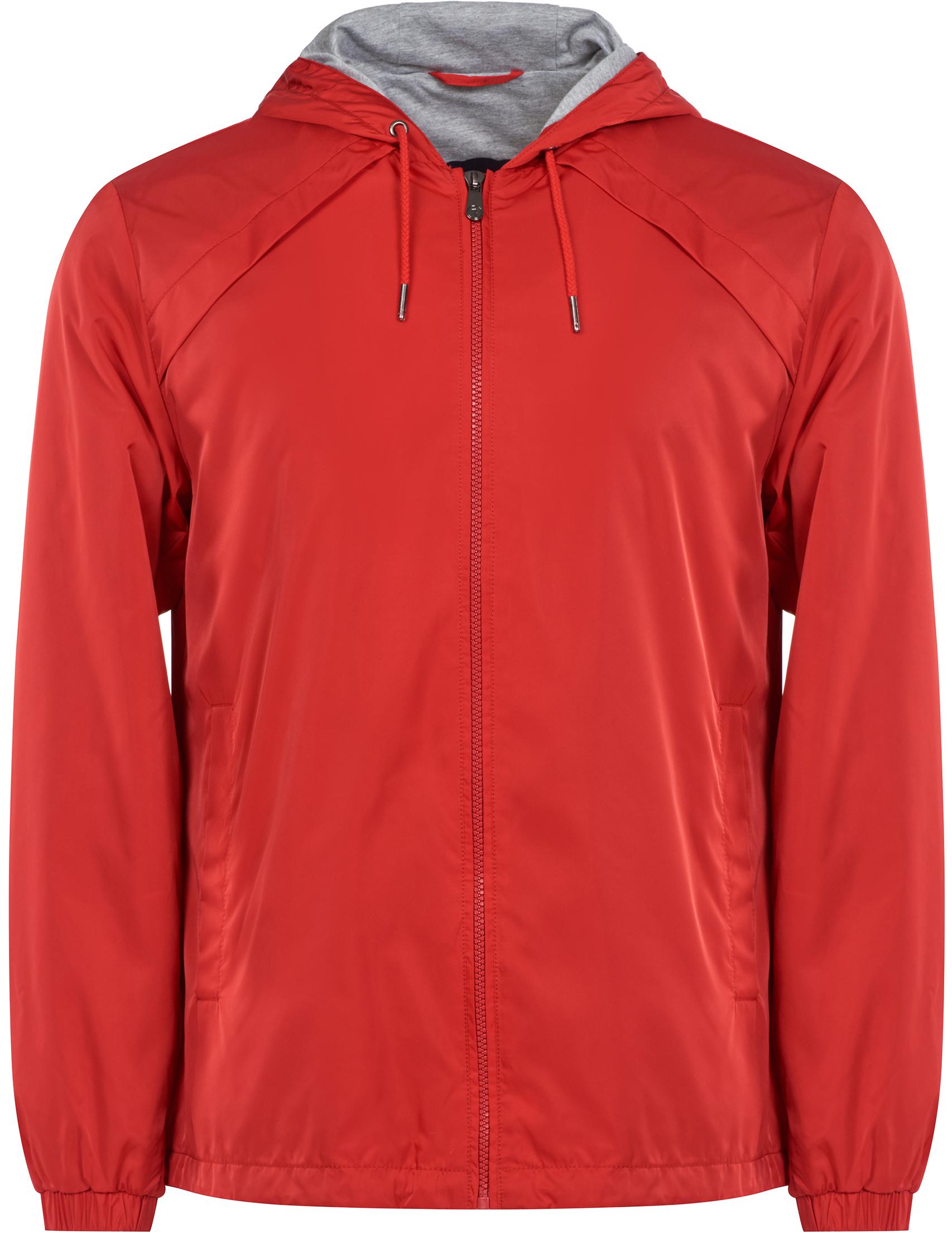 Купить Куртки, Куртка, TRUSSARDI JEANS, Красный, 100%Полиэстер, Весна-Лето