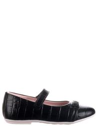Детские туфли для девочек MOSCHINO 25258-black