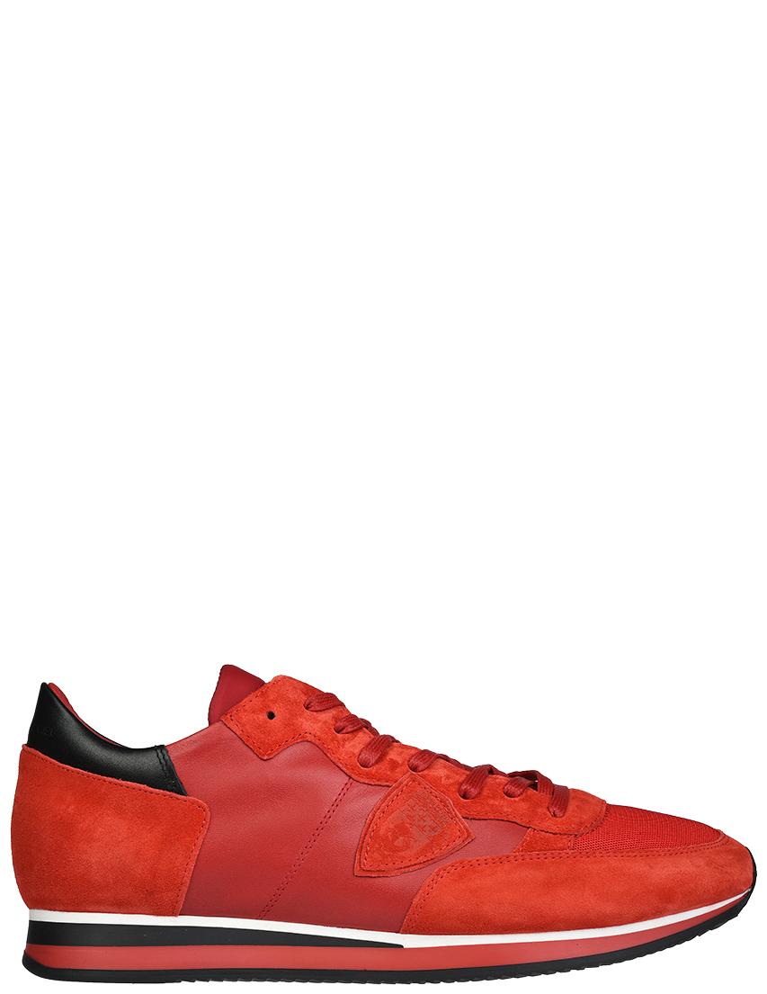 Мужские кроссовки Philippe Model AGR-WZ67_red