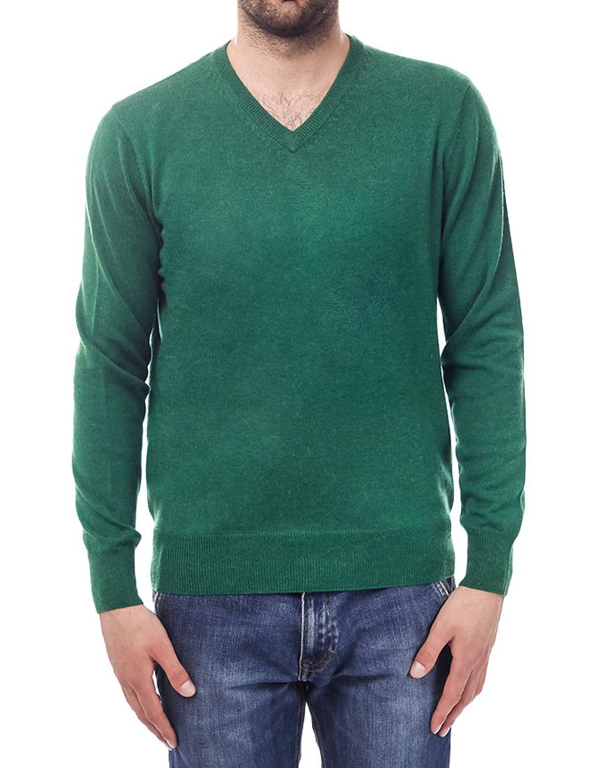 Мужской пуловер CASHMERE COMPANY 14202_green