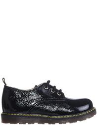 Детские туфли для девочек Naturino 3739-naplak-nero_black