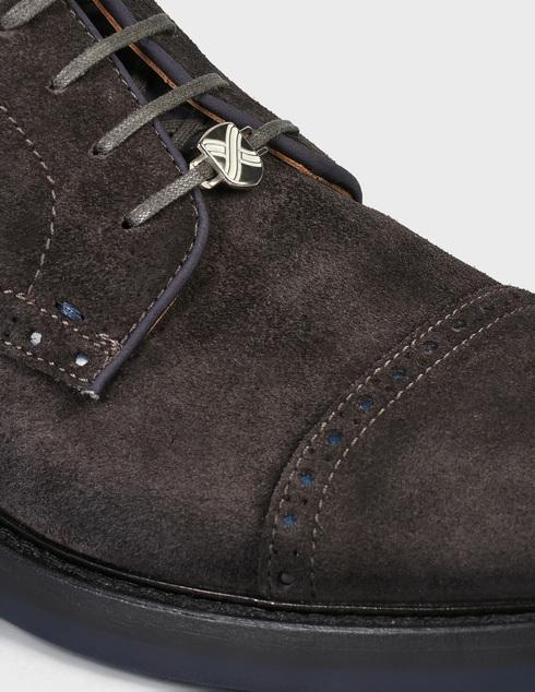 мужские коричневые замшевые Дерби Brimarts 313500 - фото-5