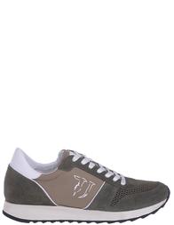 Мужские кроссовки TRUSSARDI JEANS 77064_khaki