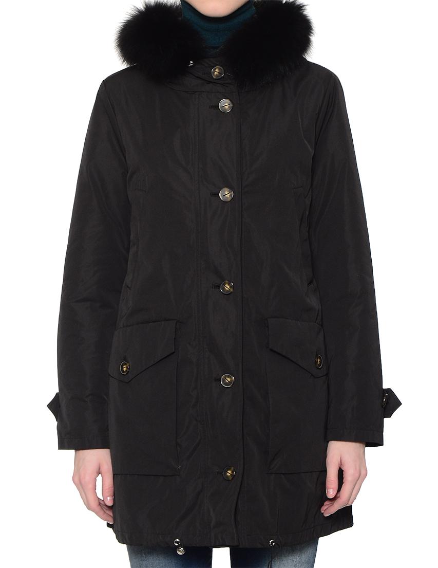 Купить Куртка, MARELLA, Черный, 100%Полиэстер;100%Нейлон, Осень-Зима