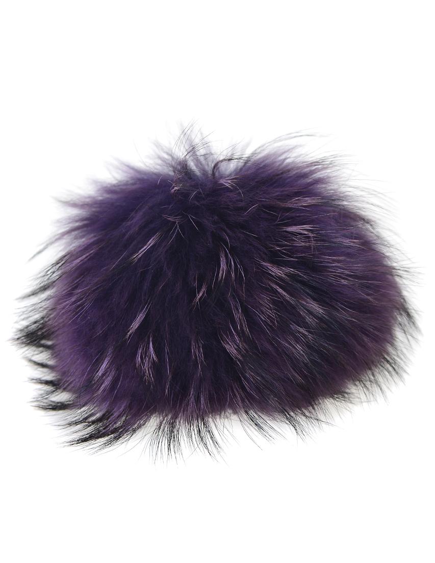 Купить Аксессуар к сумке, FURLA, Фиолетовый, Мех, Осень-Зима