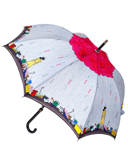 Moschino Cheap and Chic 258-63'Olivia_in_the_rain'multi