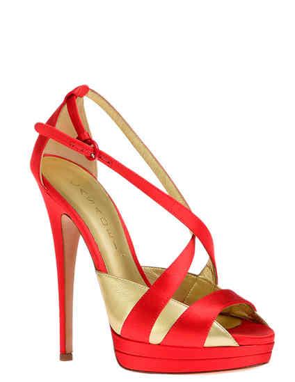 женские красные Босоножки Casadei 6476_red - фото-2