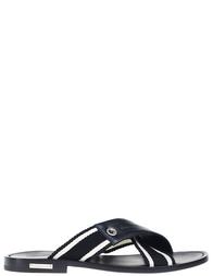 Мужские шлепанцы ALESSANDRO DELL'ACQUA 8951_black