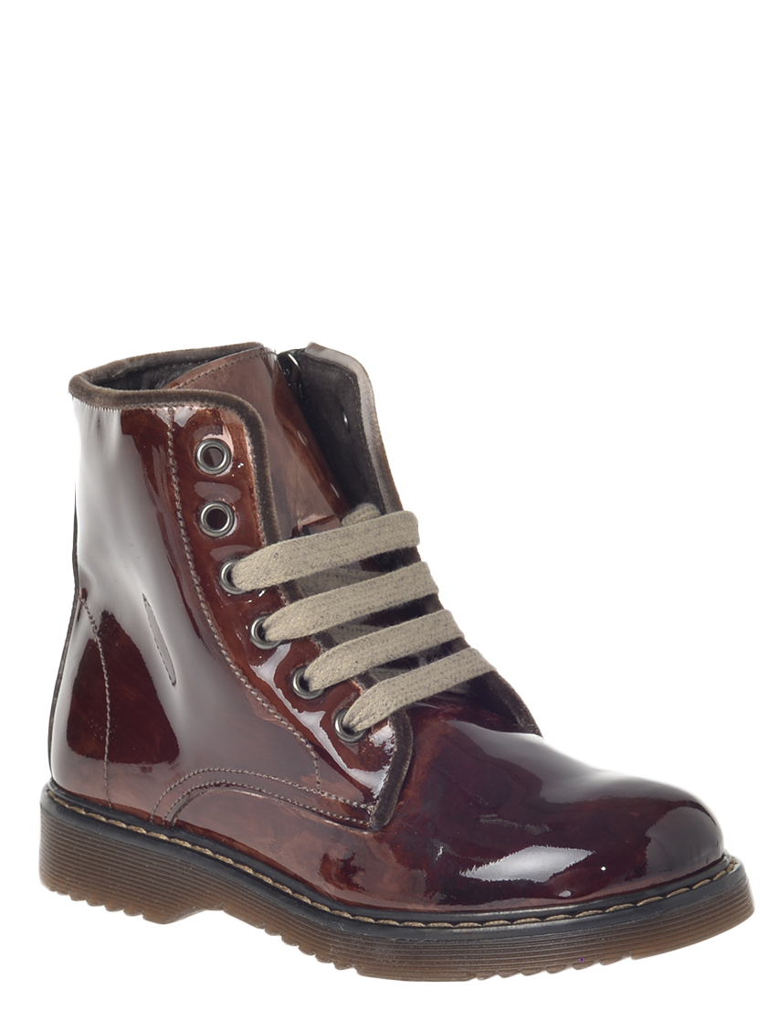 Купить Ботинки, TWIN-SET, Бордовый, Осень-Зима