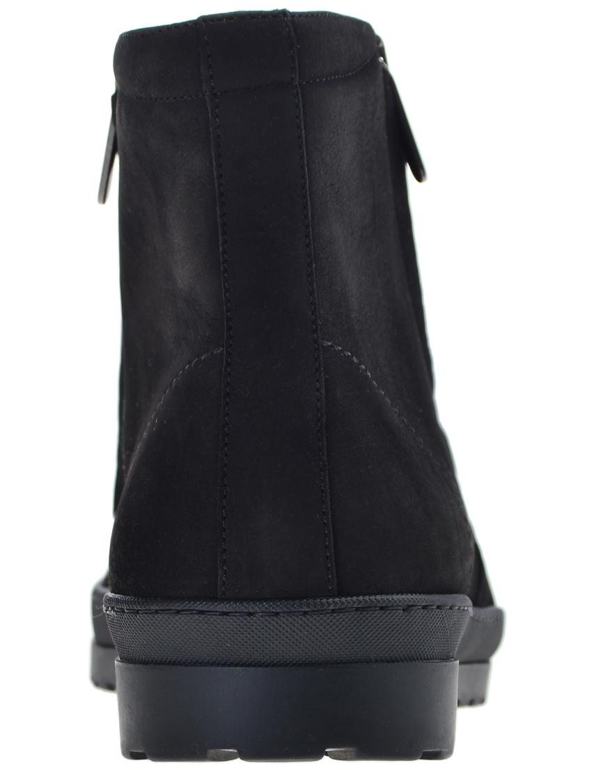 Фото 2 - мужские ботинки и полуботинки  черного цвета