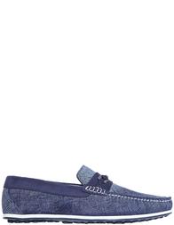 Мужские мокасины Luca Guerrini AGR-9069_blue
