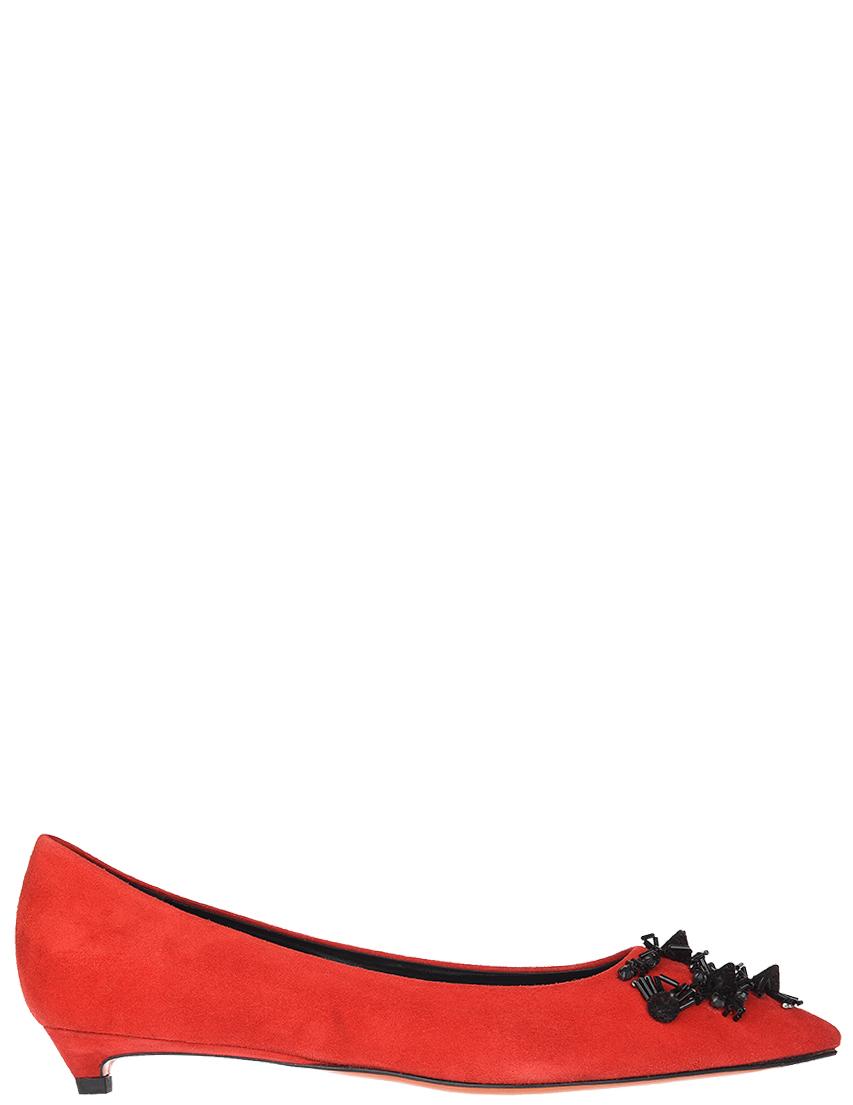 Купить Туфли, SANTONI, Красный, Весна-Лето