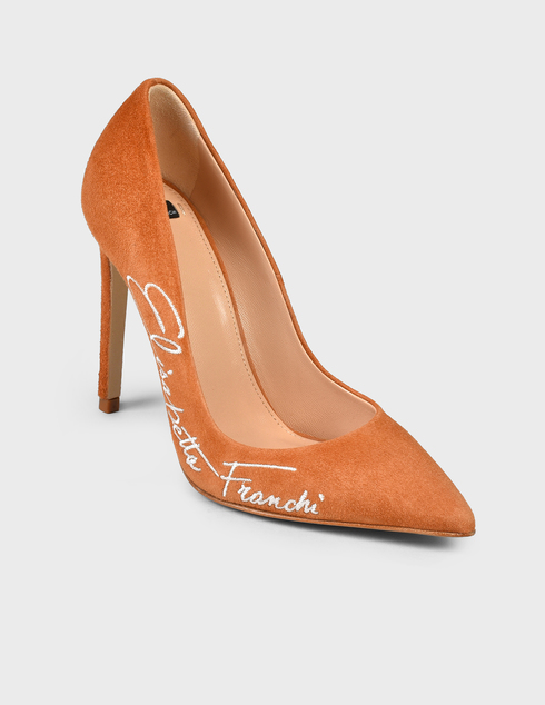 коричневые Туфли Elisabetta Franchi SA-45F-11E2-V320-Q65