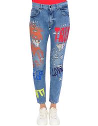 Женские джинсы UP JEANS UWPA0814--denim