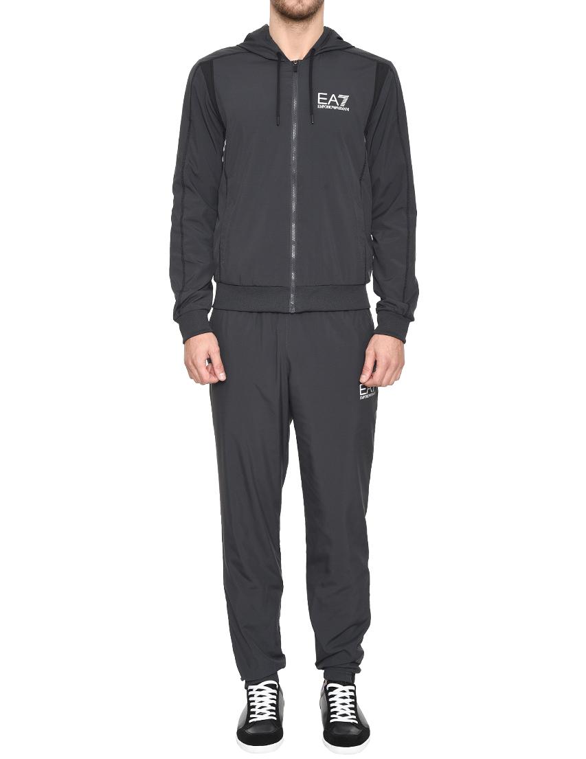 Купить Спортивный костюм, EA7 EMPORIO ARMANI, Серый, 100%Полиэстер;97%Полиэстер 3%Эластан, Весна-Лето